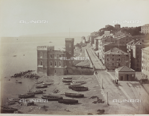 FBQ-A-006182-0040 - The Castle of Chiozza, Pegli, Genoa - Data dello scatto: 1880 ca. - Archivi Alinari, Firenze