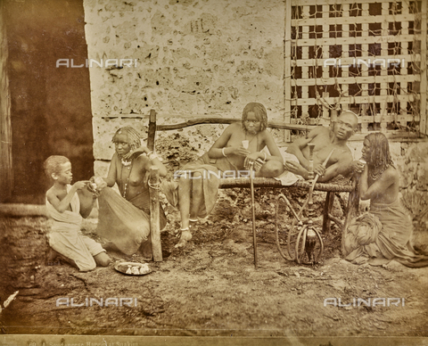 FBQ-A-006201-0025 - Harem in Suakin in Sudan - Date of photography: 1884-1887 - Fratelli Alinari Museum Collections, Florence