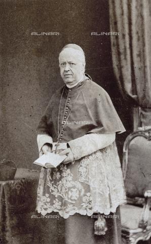 FBQ-A-006269-0281 - Ritratto del Cardinal Costantino Patrizi - Data dello scatto: 1860 ca. - Raccolte Museali Fratelli Alinari (RMFA), Firenze