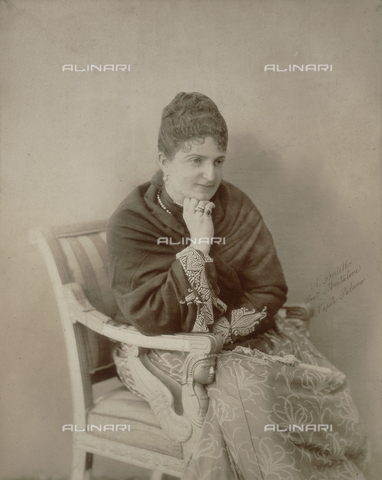 FBQ-A-006273-0024 - Portrait of Queen Margherita of Savoy (1851-1926) - Data dello scatto: 1895 ca. - Archivi Alinari, Firenze