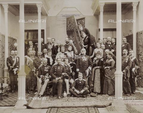 FBQ-A-006274-0022 - Il Kaiser Guglielmo II in visita a Roma - Data dello scatto: 1888 - Raccolte Museali Fratelli Alinari (RMFA), Firenze