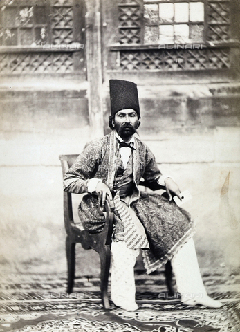 FBQ-A-006327-0004 - Persia. Mometenaghi Kan, Kassin governor's son-in-law - Data dello scatto: 1862 - Archivi Alinari, Firenze