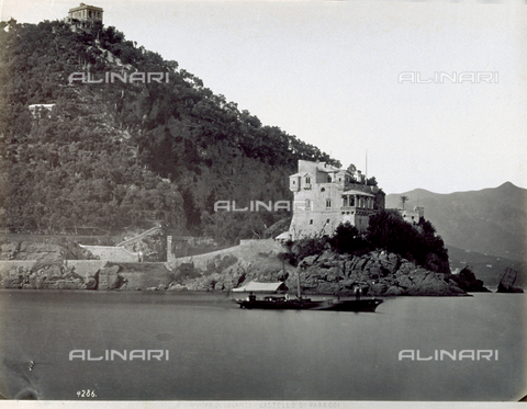 FBQ-F-000358-0000 - Stretch of coast in Paraggi, hamlet of Santa Margherita Ligure - Data dello scatto: 1870 - 1880 - Archivi Alinari, Firenze