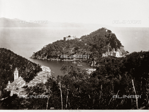 FBQ-F-000360-0000 - View from above of Portofino and its headway - Data dello scatto: 1870 - 1880 - Archivi Alinari, Firenze