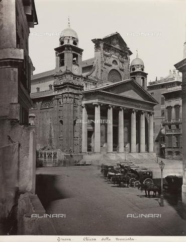 FBQ-F-001152-0000 - The Church of SS. Annunziata del Vastato in Genoa - Data dello scatto: 1860 -1880 ca. - Archivi Alinari, Firenze