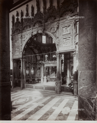 FBQ-F-001166-0000 - View of the Chapel of San Giovanni Battista in the Cathedral of San Lorenzo in Genoa - Data dello scatto: 1870- 1880 ca. - Archivi Alinari, Firenze