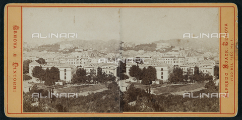FBQ-F-001979-0000 - View of Genoa. Stereoscopic photography - Data dello scatto: 1930 ca. - Archivi Alinari, Firenze