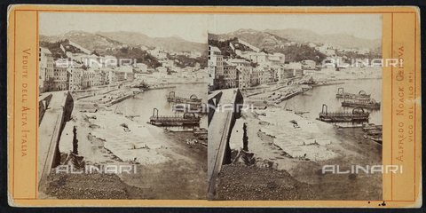 FBQ-F-001980-0000 - View of Genoa. Stereoscopic photography - Data dello scatto: 1900 ca. - Archivi Alinari, Firenze