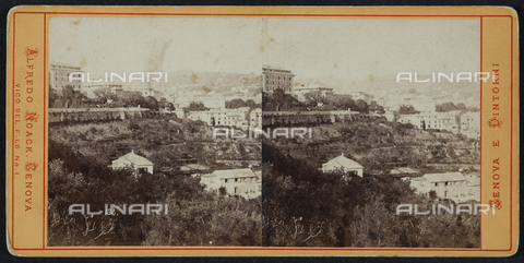 FBQ-F-001981-0000 - View of Genoa. Stereoscopic photography - Data dello scatto: 1930 ca. - Archivi Alinari, Firenze