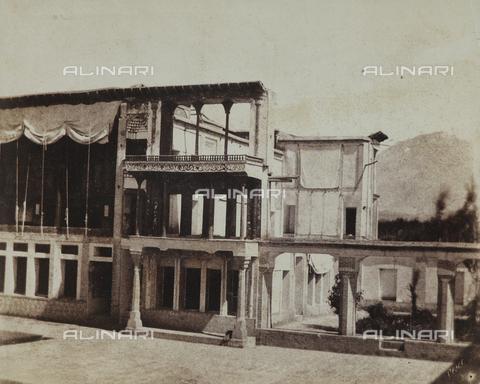 FBQ-F-002039-0000 - Particolare esterno del Palazzo Golestan a Teheran, in Iran - Data dello scatto: 1860 ca. - Raccolte Museali Fratelli Alinari (RMFA), Firenze