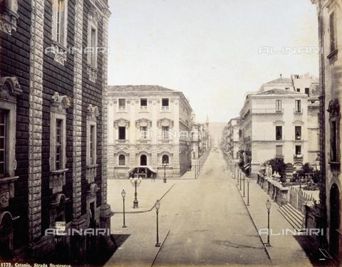 FBQ-F-002132-0000 - Via Etnea in Catania (formerly Stesicorea Street) - Data dello scatto: 1870 - 1875 ca. - Archivi Alinari, Firenze