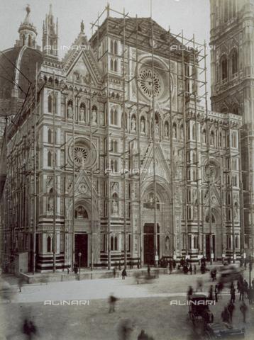 FBQ-F-002690-0000 - Faà§ade, Cathedral of Santa Maria del Fiore, Florence
