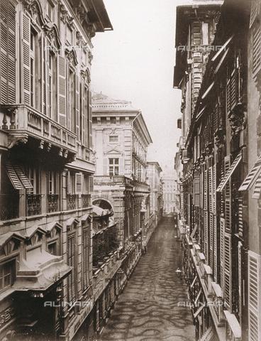 FBQ-F-002793-0000 - Via Nuova, now Via Garibaldi, in Genoa - Data dello scatto: 1870 -1890 - Archivi Alinari, Firenze