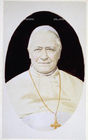 FBQ-F-004329-0000 - Ritratto a mezzo busto di Papa Pio IX, al secolo Maria Mastai Ferretti - Data dello scatto: 1870 ca. - Raccolte Museali Fratelli Alinari (RMFA), Firenze
