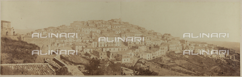 FBQ-F-006615-0000 - View of Candela, Foggia - Date of photography: 1865 ca. - Fratelli Alinari Museum Collections, Florence