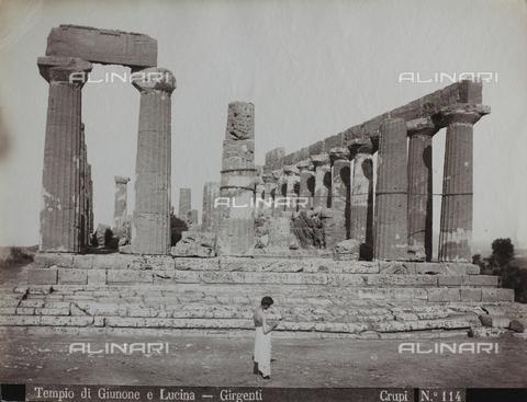 FBQ-F-006890-0000 - Il Tempio di Giunone Lacinia ad Agrigento - Data dello scatto: 1880-1890 - Archivi Alinari, Firenze