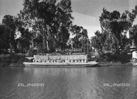 FCA-F-000170-0000 - Battello sul Nilo - Data dello scatto: 1950-1960 - Archivi Alinari, Firenze