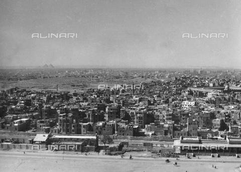 FCA-F-000173-0000 - Veduta della città de Il Cairo, Egitto - Data dello scatto: 1950-1960 - Archivi Alinari, Firenze