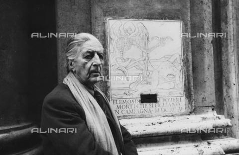 FCA-F-000201-0000 - Ritratto del fotografo Fabrizio Clerici - Data dello scatto: 1990-1993 - Archivi Alinari, Firenze