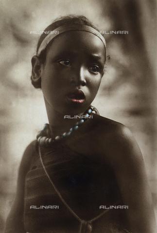 FCC-A-000067-0150 - Ethiopian girl