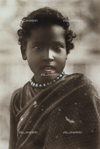 FCC-A-000067-0154 - Ethiopian girl in traditional dress