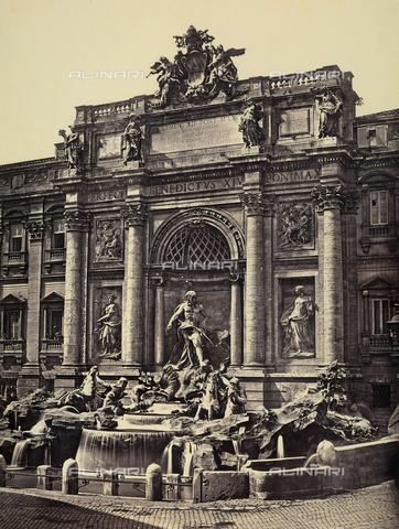 FCC-F-009923-0000 - La fontana di Trevi, a Roma - Data dello scatto: 1857 - Raccolte Museali Fratelli Alinari (RMFA)-collezione Favrod, Firenze