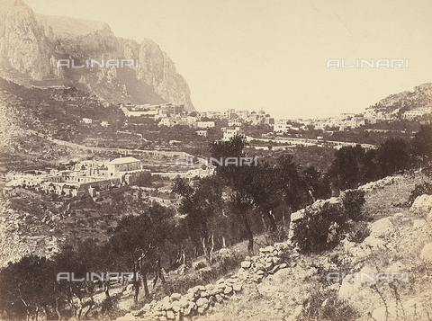 FCC-F-010175-0000 - Panoramic view of Capri - Data dello scatto: 1865 ca. - Archivi Alinari, Firenze