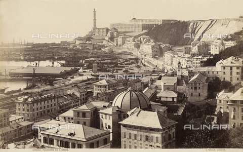 FCC-F-010550-0000 - View of Genoa - Data dello scatto: 1875-1880 ca. - Archivi Alinari, Firenze