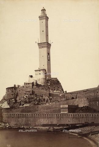 FCC-F-011091-0000 - Torre della Lanterna (Lantern Tower) in Genoa - Data dello scatto: 1870 ca - Archivi Alinari, Firenze
