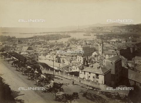 FCC-F-013550-0000 - View of Genoa - Data dello scatto: 1880 ca. - Archivi Alinari, Firenze