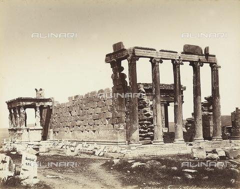 FCC-F-014274-0000 - Il Tempio dell'Erecteion sull'Acropoli di Atene - Data dello scatto: 1865 ca. - Raccolte Museali Fratelli Alinari (RMFA)-collezione Favrod, Firenze
