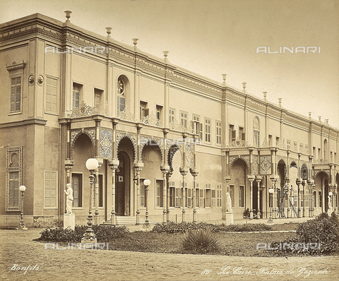 FCC-F-014289-0000 - The Gezireh Palace in Cairo, Egypt - Date of photography: 1870 ca. - Fratelli Alinari Museum Collections-Favrod Collection, Florence