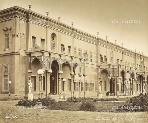 FCC-F-014289-0000 - Il Palazzo di Gezireh al Cairo, in Egitto - Data dello scatto: 1870 ca. - Raccolte Museali Fratelli Alinari (RMFA)-collezione Favrod, Firenze