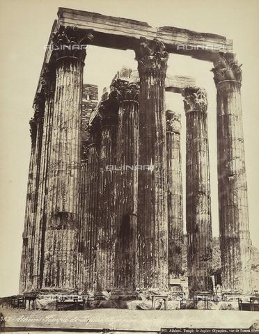 FCC-F-014317-0000 - L'Olympeion, o Tempio di Zeus Olimpio, sull'Acropoli di Atene - Data dello scatto: 1870 ca. - Raccolte Museali Fratelli Alinari (RMFA)-collezione Favrod, Firenze