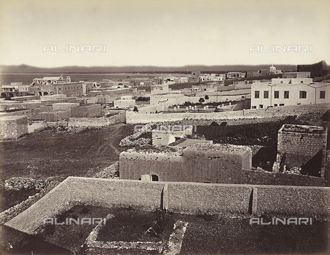 FCC-F-014336-0000 - View of the city of Haifa, Isreal - Date of photography: 1870 ca. - Fratelli Alinari Museum Collections-Favrod Collection, Florence