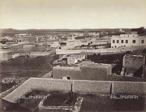 FCC-F-014336-0000 - Veduta della città di Haifa, in Israele - Data dello scatto: 1870 ca. - Raccolte Museali Fratelli Alinari (RMFA)-collezione Favrod, Firenze