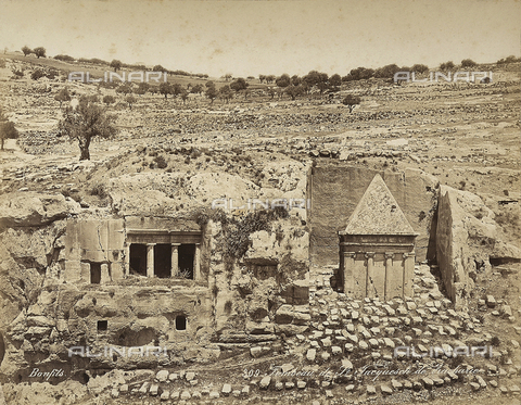 FCC-F-014461-0000 - Tomb of St. Jerome in Palestine - Date of photography: 1860-1870 ca. - Fratelli Alinari Museum Collections-Favrod Collection, Florence