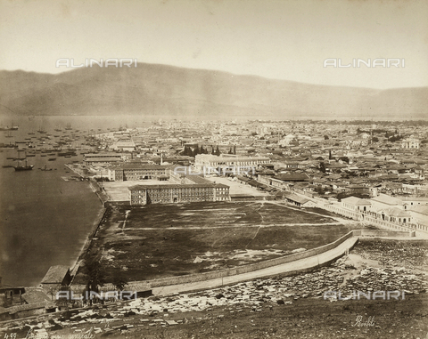 FCC-F-014796-0000 - View of Smyrne, in Turkey - Date of photography: 1880 ca. - Fratelli Alinari Museum Collections-Favrod Collection, Florence