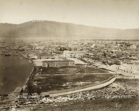 FCC-F-014796-0000 - Panorama di Smirne in Turchia - Data dello scatto: 1880 ca. - Raccolte Museali Fratelli Alinari (RMFA)-collezione Favrod, Firenze