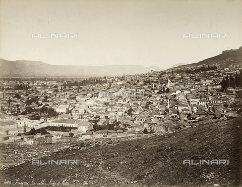 FCC-F-014797-0000 - View of Smyrne in Turkey - Date of photography: 1880 ca. - Fratelli Alinari Museum Collections-Favrod Collection, Florence