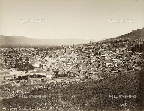 FCC-F-014797-0000 - Panorama di Smirne in Turchia - Data dello scatto: 1880 ca. - Raccolte Museali Fratelli Alinari (RMFA)-collezione Favrod, Firenze