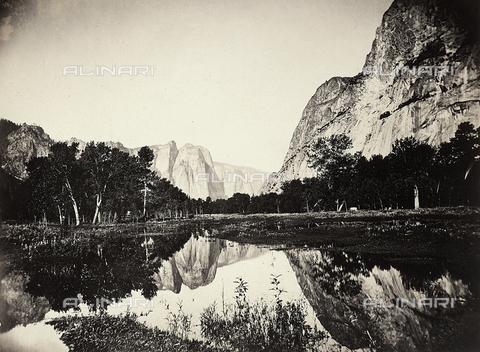 FCC-F-016856-0000 - La Yosemite Valley in Sierra Nevada - Data dello scatto: 1867-1872 ca. - Archivi Alinari, Firenze