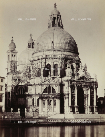 FCC-F-021032-0000 - The Church of Santa Maria della Salute, Venice - Data dello scatto: 1878 - Archivi Alinari, Firenze
