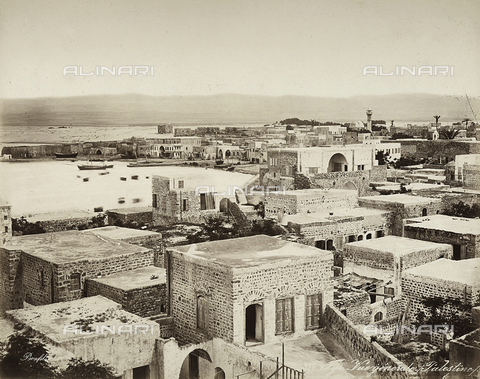 FCC-F-023674-0000 - View of a village in Palestine - Date of photography: 1880 ca. - Fratelli Alinari Museum Collections-Favrod Collection, Florence