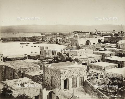 FCC-F-023674-0000 - Veduta di un villaggio della Palestina - Data dello scatto: 1880 ca. - Raccolte Museali Fratelli Alinari (RMFA)-collezione Favrod, Firenze