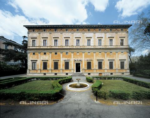 FCP-S-FAR000-0009 - Villa La Farnesina in Rome, the south side - Data dello scatto: 2003 - Franco Cosimo Panini Editore © Management Fratelli Alinari
