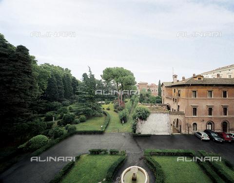 FCP-S-FAR000-0022 - The garden of the Villa Franesina from the south side - Data dello scatto: 2003 - Franco Cosimo Panini Editore © Management Fratelli Alinari