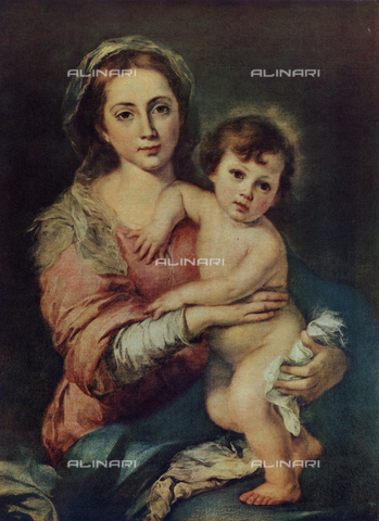 FDC-F-000024-0000 - Madonna and Child; Galleria Palatina, Palazzo Pitti, Florence