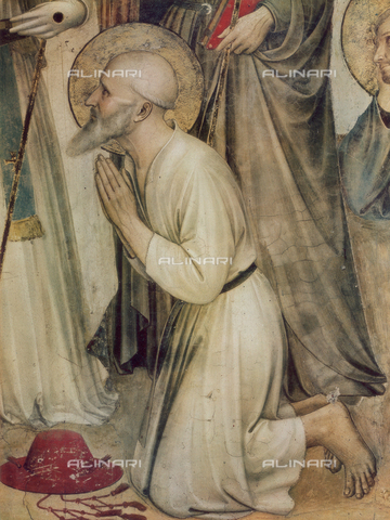 FDC-F-000238-0000 - St. Jerome; detail of the Crucifixion and Saints, Sala del Capitolo, Museum of S. Marco, Florence