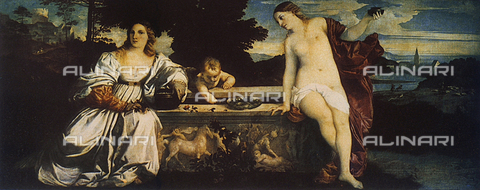 FDC-F-000264-0000 - Sacred and Profane Love, Galleria Borghese, Rome